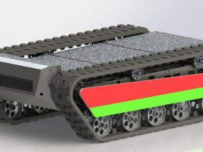 TG51履带式机器人底盘