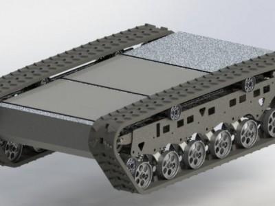 TG61履带式机器人底盘