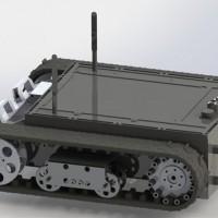 TC750磁吸附履带机器人底盘