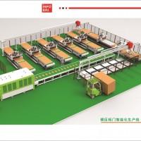 模压柜门智能化生产线(1拖5方案)