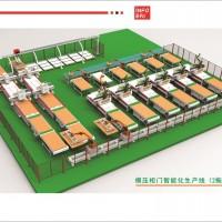 模压柜门智能化生产线(2拖6方案)